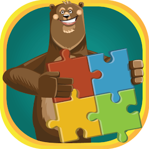 Cartoon puzzle 3d