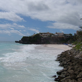 No such thing as a private beach in Barbados? by Gareth Evans BA Hons - Landscapes Beaches