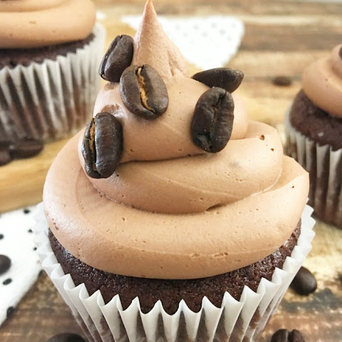 PEP UP WITH MOCHA CUPCAKES