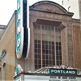 A Portland Theater by Sarah Farber - Buildings & Architecture Architectural Detail