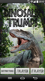 Dinosaur Trumps - screenshot