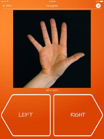Recognise Hand - screenshot