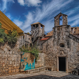 Church   by Ljiljana Cviljak - Buildings & Architecture Public & Historical ( korčula, church, old town, croatia, marco, island )