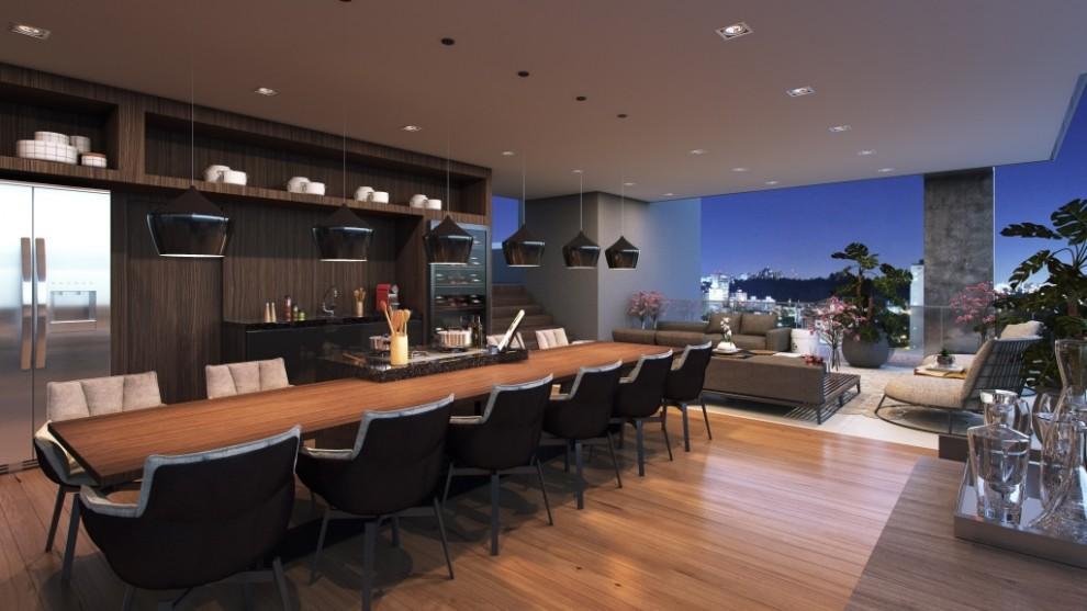 Perspectiva do Espaço Gourmet Penthouse - 315 m²