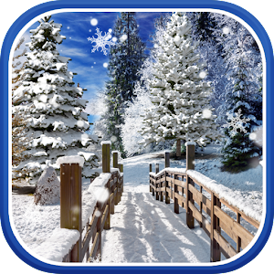 Зимние Пейзажи Живые Обои