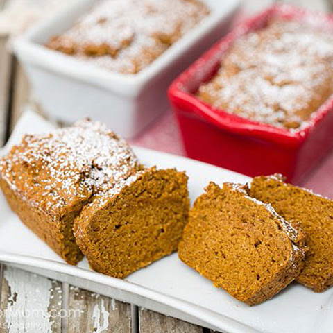 Fluffy and Moist Gluten Free Pumpkin Bread