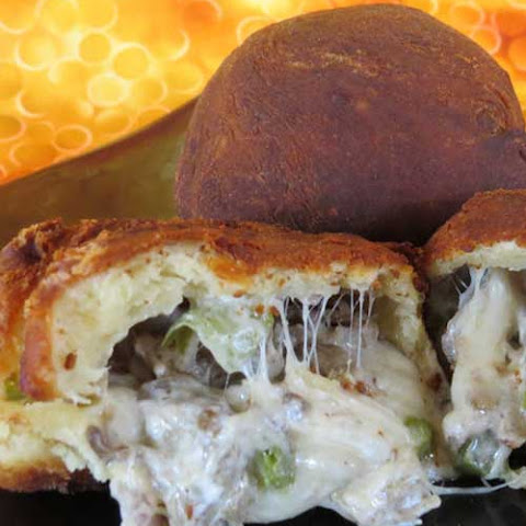 Deep Fried Philly Cheese Steak Balls
