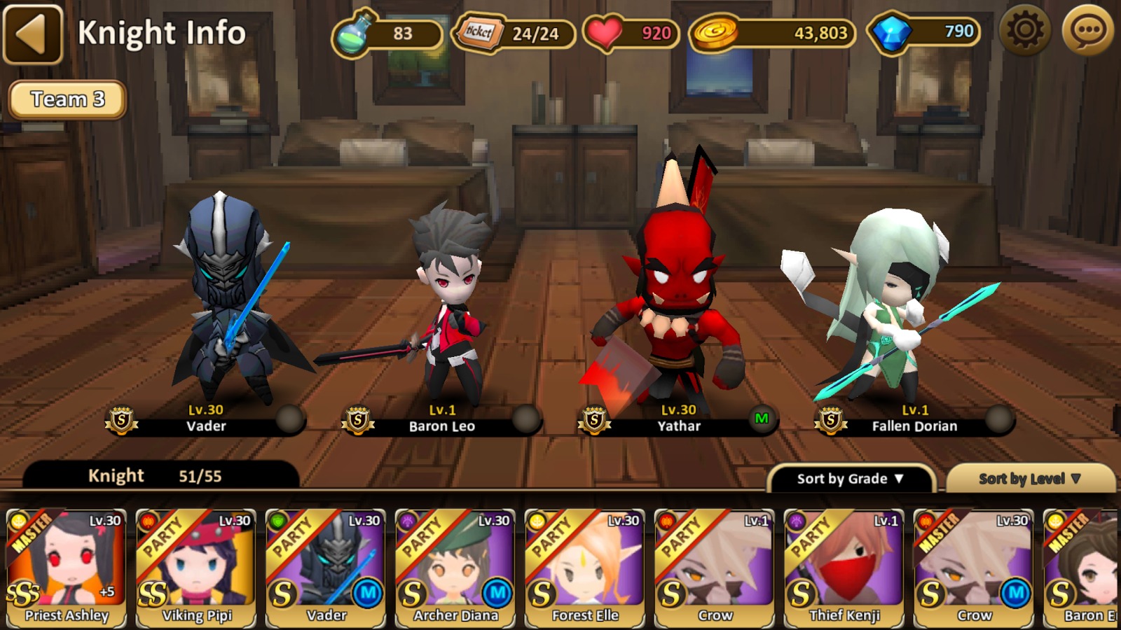 Heaven Knights Screenshot 1