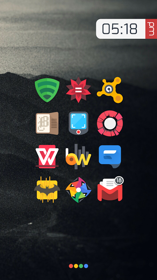 Crispy - Icon Pack Screenshot 1