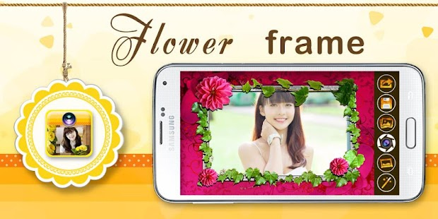 FLOWER PHOTO FRAMES - screenshot