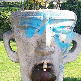 face ache by Stephen Lang - City,  Street & Park  City Parks