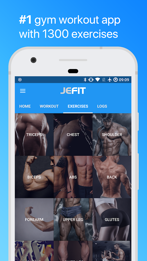 Jefit Workout Tracker Gym Log Personal Trainer Screenshot