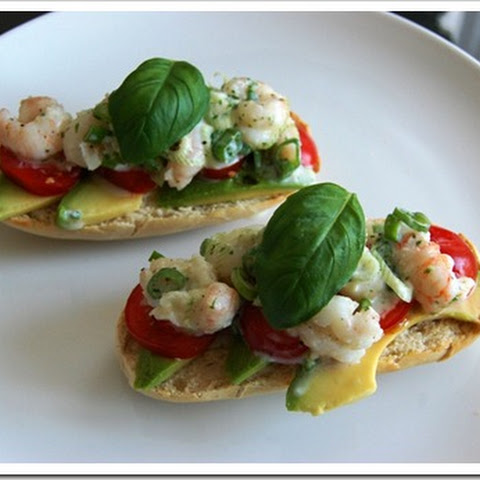 Healthy Prawn Salad Sandwich