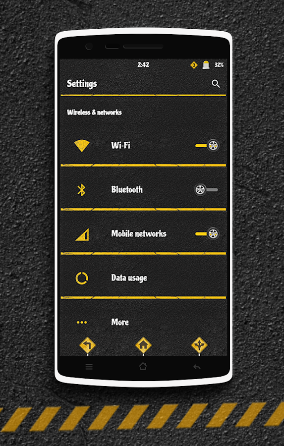 The Road CM13 CM12 DU Theme Screenshot 1