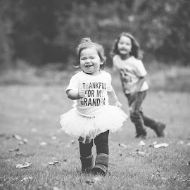 Running Free by Jenny Hammer - Babies & Children Children Candids ( child, sisters, girl, brother, toddler, cute, running )