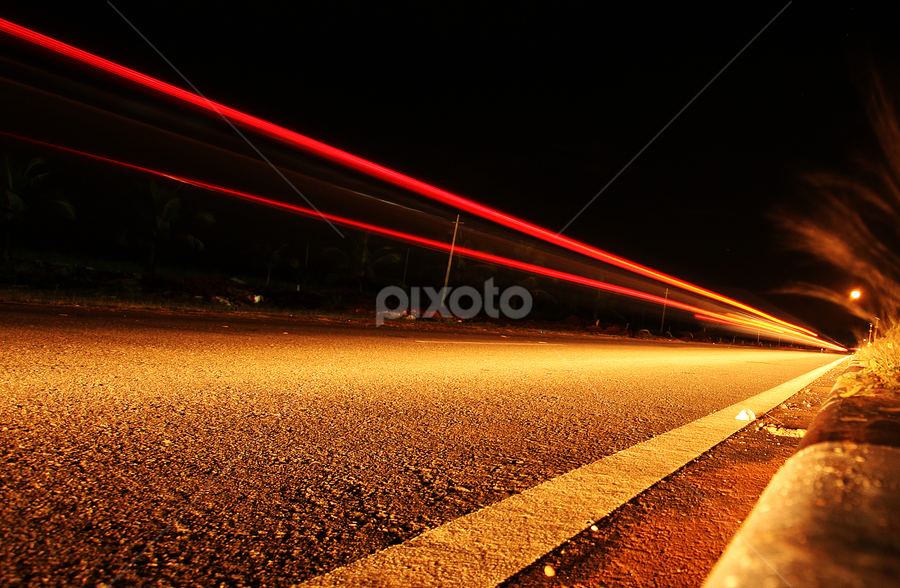 by Dhruv Ashra - Abstract Light Painting