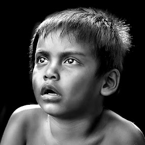 Kid by Mohd Helmie Wahab - People Fine Art