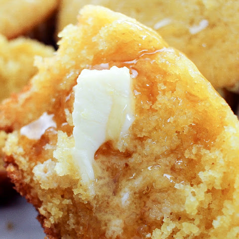 Honey Jalapeno Cornbread Muffins