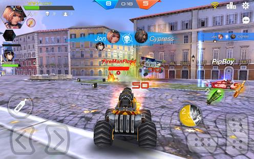 Overload: Multiplayer Battle Car Shooting Game