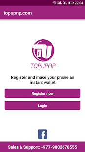 topupnp - screenshot