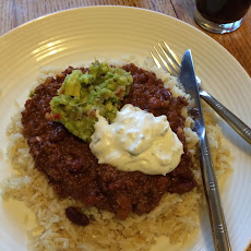 Chilli Con Carne with a hint of Chocolate