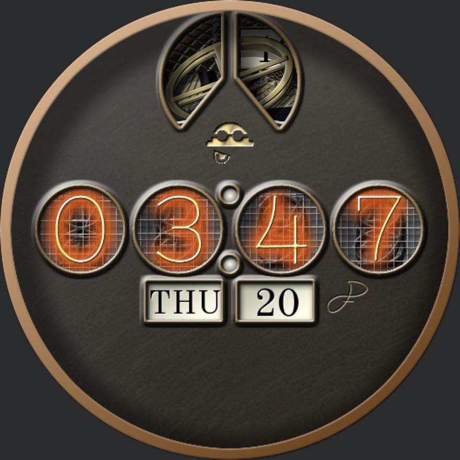 Steampunk VII for WatchMaker Screenshot 1