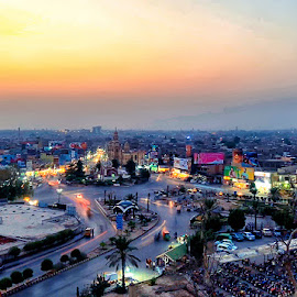 by Abdul Rehman - City,  Street & Park  Vistas