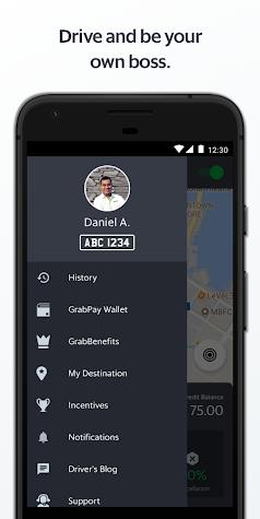 Grab Driver Screenshot