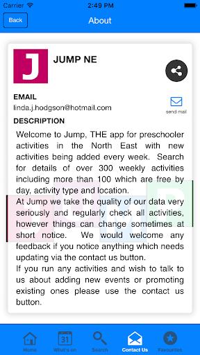 Jump NE - screenshot