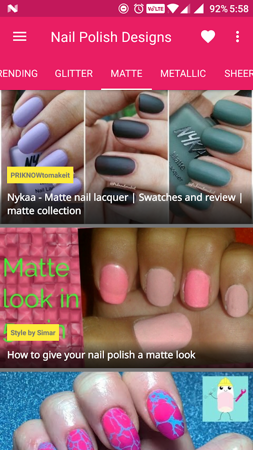 Nailart Nail Polish Art Designs Screenshot