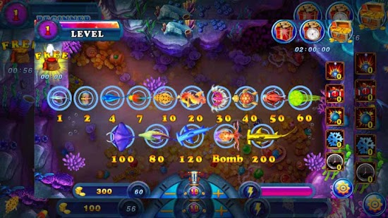 Crazy fish saga free apk 1 2 free adventure apps for android for Fishing saga games