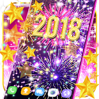 Happy new year 2018 live wallpaper on PC / Windows 7.8.10 & MAC