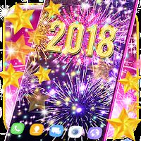 Happy new year 2018 live wallpaper on PC / Windows 7.8.10 & MAC