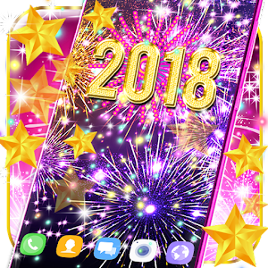 Happy new year 2018 live wallpaper For PC