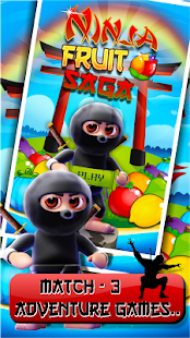 Ninja Fruit Saga - screenshot