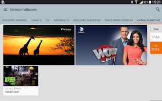Screenshot of Orange TV Go