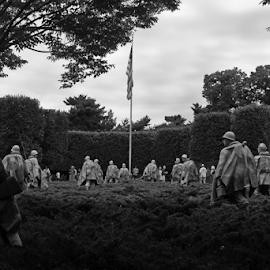 Korean War Memorial 2 by John Forrant - Buildings & Architecture Statues & Monuments
