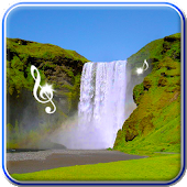 Waterfall Live Wallpaper With APK for Bluestacks