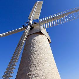 MONTEFIORE WINDMILL by Jody Frankel - Buildings & Architecture Public & Historical ( jerusalem, yemen moshe, windmill in israel, montefiore windmill )