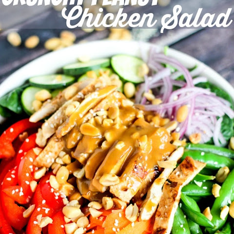 Crunchy Peanut Chicken Salad