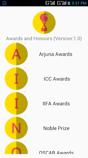 Awards and Honours [2016] APK