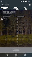 Screenshot of Transparent - CM12/12.1 Theme