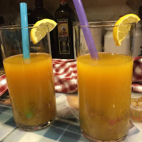 Boba Iced Tea With Mango Nectar #RecipeIdeas