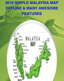 Simple Malaysia Map Offline - screenshot