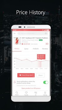 AliPrice -- AliExpress Price Tracker APK screenshot thumbnail 1