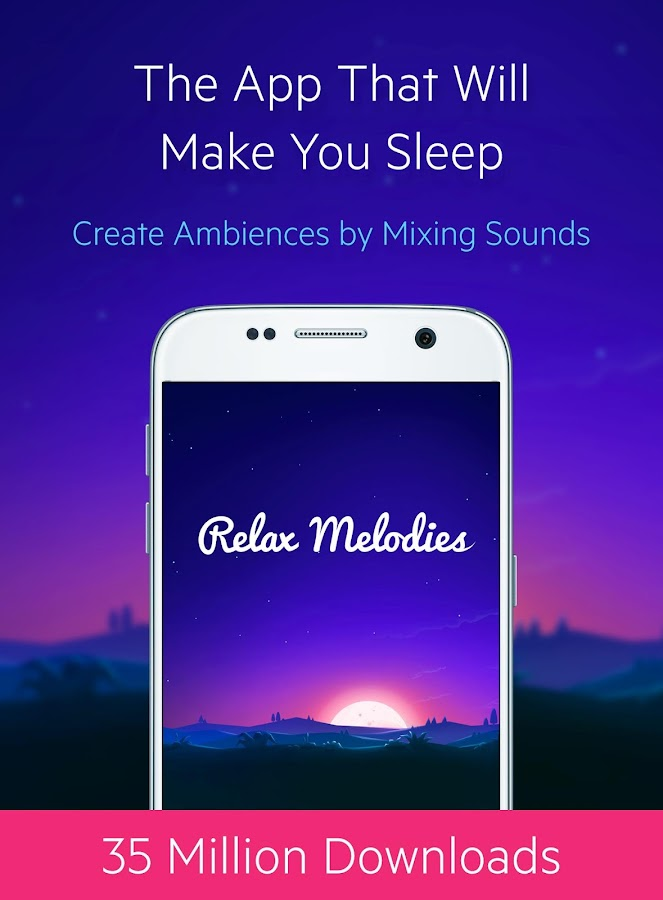 Relax Melodies P: Sleep Sounds Screenshot 0