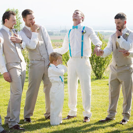That BLING! by Roberta Lott-Holmes - Wedding Groups ( ring, best friends, wedding, best man, groom,  )