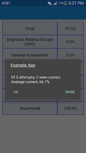 Australian Medical Adaptive - screenshot
