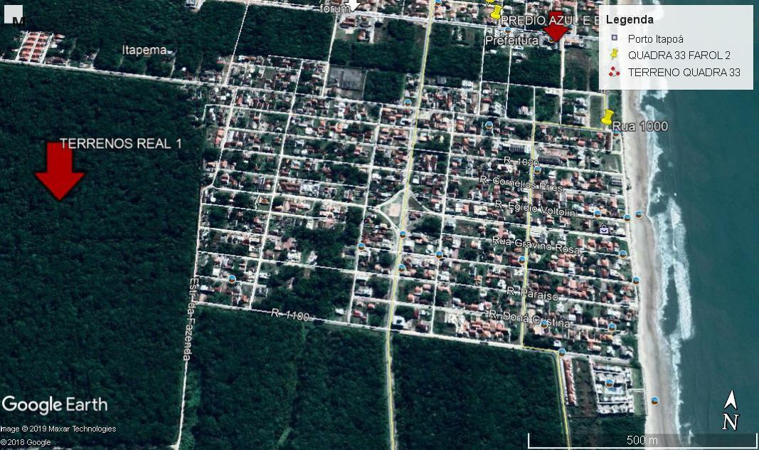 4 Terrenos à venda, 1872 m² por R$ 42.000 -Para investimento
