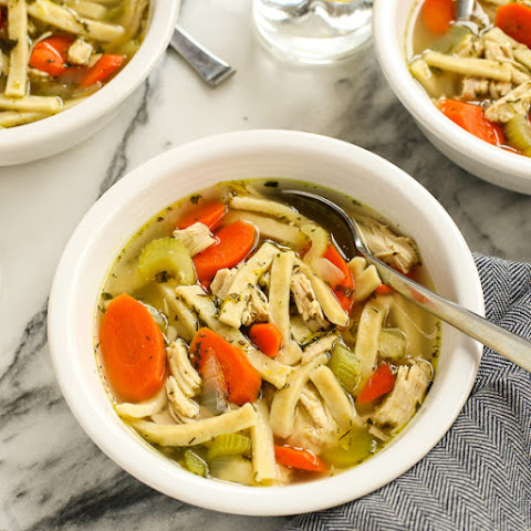 Mom's Homemade Chicken Noodle Soup